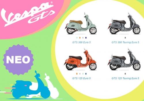 Νέα Vespa GTS Euro 5!