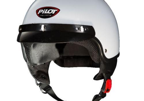 Κράνος Pilot Scoot άσπρο